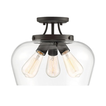 Octave Ceiling Semi Flush Light
