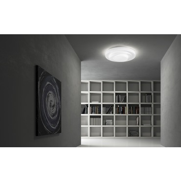 Loop-Line Ceiling Flush Mount by Leucos