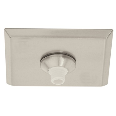 FJ 2 Inch Square Canopy Without Transformer by PureEdge Lighting | FJC-2SQ-SN