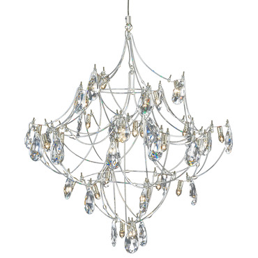 FJ Crystal Galaxy Pendant by Edge Lighting | FJ-CRYGA16-12-SN