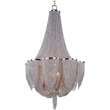 Chantilly 10 Light Chandelier by Maxim Lighting | 21465NKPN