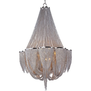 Chantilly 12 Light Chandelier by Maxim Lighting | 21466NKPN