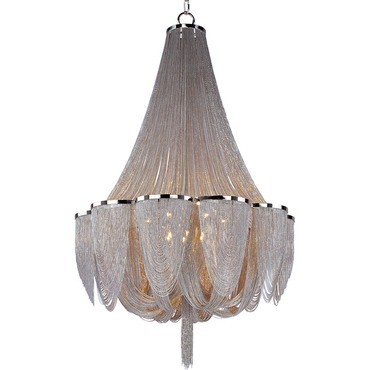Chantilly 14 Light Chandelier by Maxim Lighting | 21467NKPN