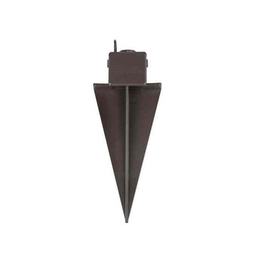 Landscape 4.5 Inch Ground Spike With Junction Box