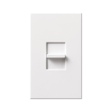 Nova T Linear Slide Single Pole Switch by Lutron | NT-1PS-WH