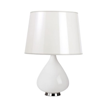 Capri Teardrop Table Lamp by Jonathan Adler | RA-WH732