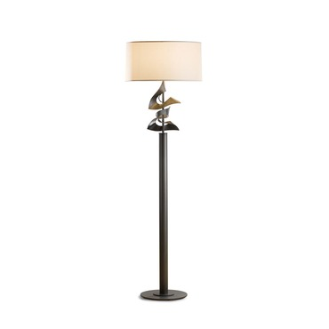Two Fold Gallery Floor Lamp