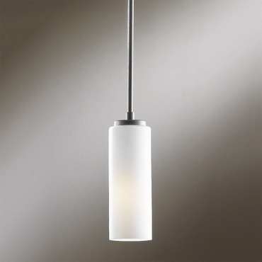Simple Lines Small Adjustable Pendant by Hubbardton Forge | 18332-201-08-G117