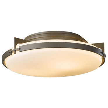Metra Ceiling Light Fixture by Hubbardton Forge | 126745-07-G97