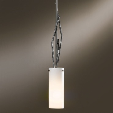 Brindille Adjustable Pendant W / Glass Shade by Hubbardton Forge | 18667-201-07-G336