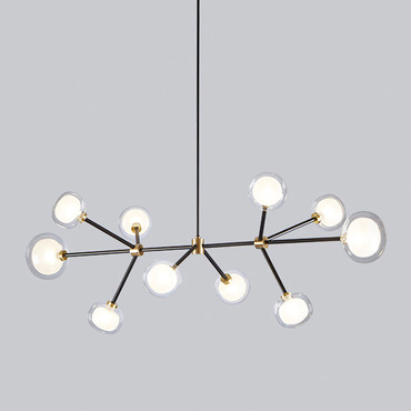 Nabila Rectangular Chandelier