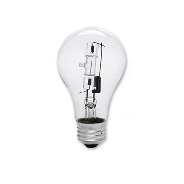 A19 Eco Halogen Medium Base 29W 2900K 2-Pack by Bulbrite | 115028