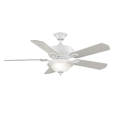 Camhaven Ceiling Fan with Light by Fanimation | FP8095WH