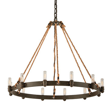 Pike Place Round Chandelier by Troy Lighting   F3126