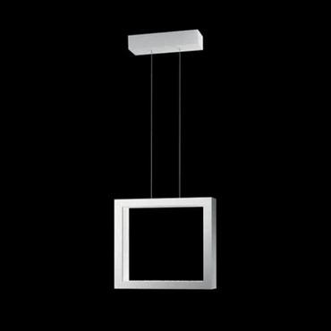 Revealed Closed 3000K LED Suspension by Swarovski | SRE150-WH2