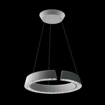 Inside / Out Circle 3000K LED Suspension