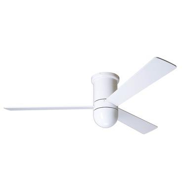 Cirrus Flush Ceiling Fan With Fan U0026 Light Wall Control