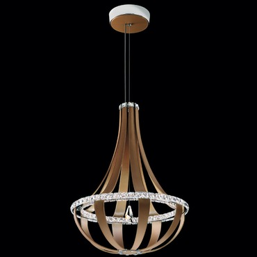 Crystal Empire 27 Inch 4000K LED Chandelier