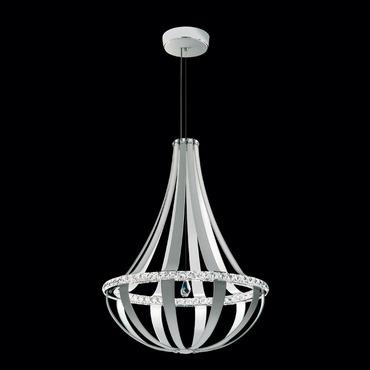 Crystal Empire 34 Inch 4000K LED Suspension by Swarovski   SCE131-LW1