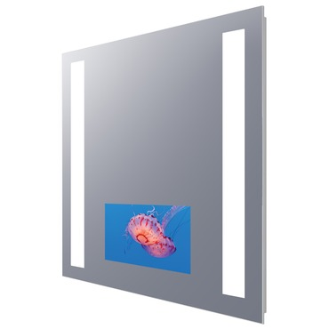 Fusion Lighted Mirror with 15 inch TV