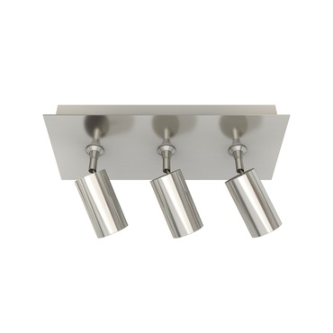 Piston 3 Light Monopoint with Rectangle Canopy