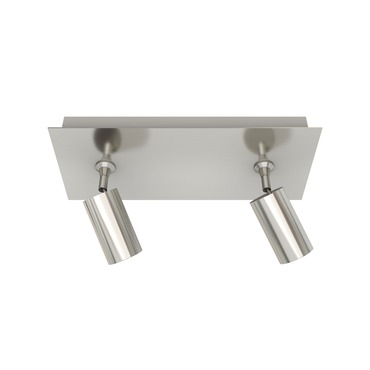 Piston 2 Light Monopoint with Rectangle Canopy