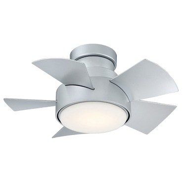 Vox Flush Mount DC Ceiling Fan with Light