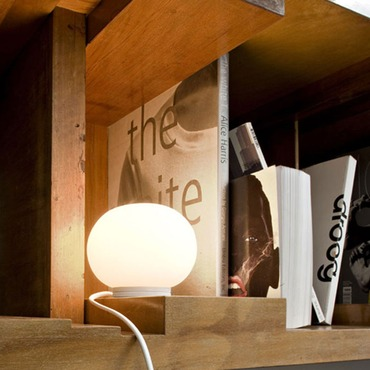 Mini Glo-Ball Table Lamp by FLOS USA