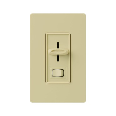 Skylark Single Pole 600W Incandescent Dimmer and Switch by Lutron | s-600p-iv