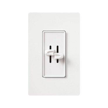 Skylark Quiet Fully Variable Fan Control and Dimmer by Lutron | S2-LF-WH