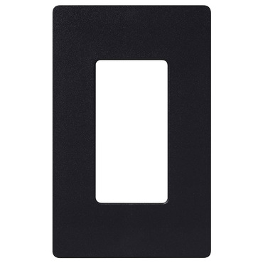 Claro 1-Gang Wall Plate by Lutron | sc-1-mn