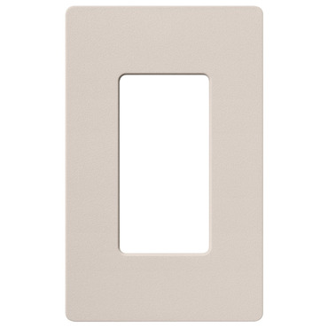Claro 1-Gang Wall Plate by Lutron | sc-1-tp