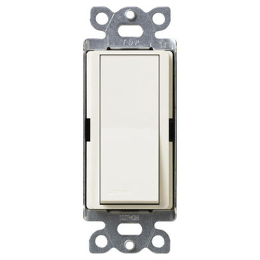 Diva Single Pole Switch by Lutron | sc-1ps-bi