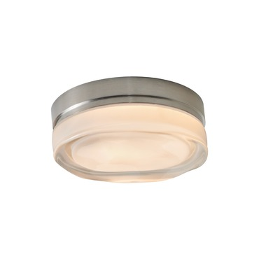 Fluid Round LED Wall/Ceiling Mount  by Tech Lighting | 700FMFLDRSS-LED