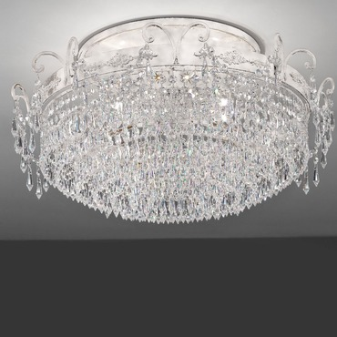 Glasse Semi Flush Ceiling Light