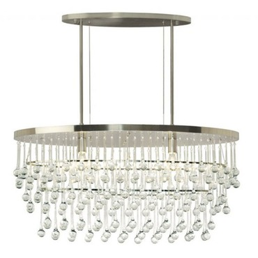 Rain Chandelier by Stone Lighting | CH514CRSNMB6