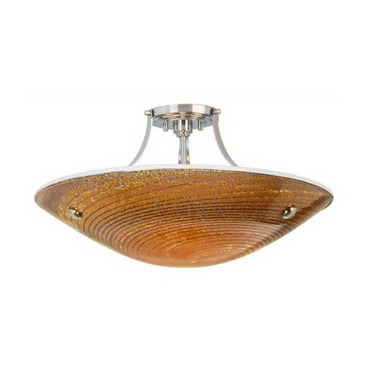 Neptune Semi-Flush Ceiling Mount by Stone Lighting | CL502MOSNMB6
