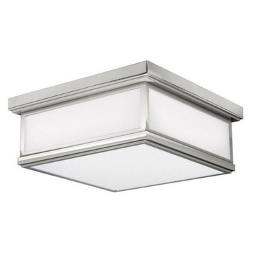 Avenue Kalla Square Incandescent Flush Mount by Stone Lighting | CL505FRPNMB4