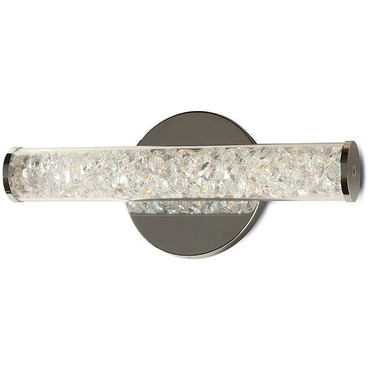 Jazz Crystal Wall Sconce by Stone Lighting | WS223CRPCLED