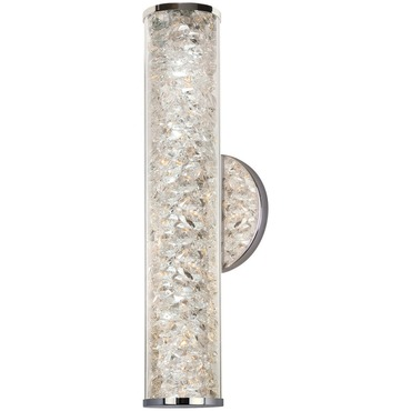 Jazz Venti LED Crystal Wall Sconce by Stone Lighting | WS224CRPCLED