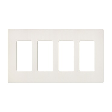Satin Colors 4 Gang Wall Plate