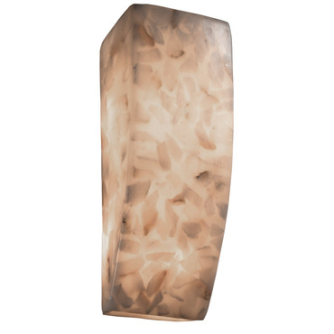 Alabaster Rocks Rectangle Wall Sconce