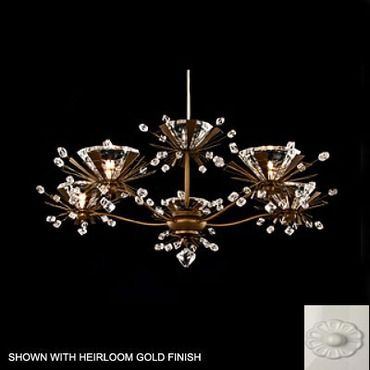 Estella 5 Light Chandelier by Schonbek | ES3805-50-S