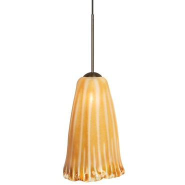 FJ Wilt Pendant by LBL Lighting | HS179AMBZ1B50FSJ