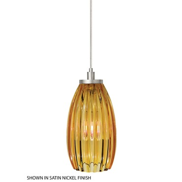 FJ Flute Pendant by LBL Lighting | HS194AMBZ1A50FSJ