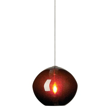 FJ Mini Isla Pendant by LBL Lighting | HS506BRBZ1B35FSJ