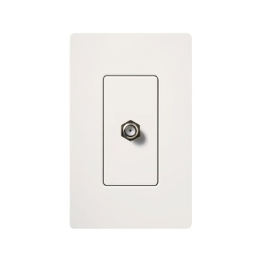 Claro Cable TV Jack by Lutron | SC-CJ-SW