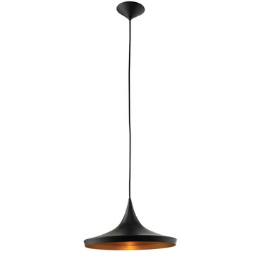 Plato Pendant by Lightology Collection | LC-PLATO-P-BK