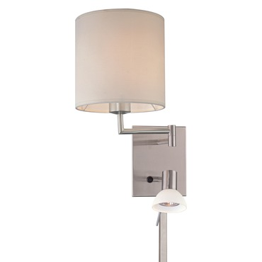 P1050 Swing Arm Wall Sconce by George Kovacs | P1050-084