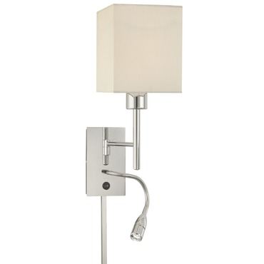 P477 Swing Arm Wall Sconce by George Kovacs | P477-077